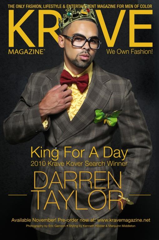 Dallas Nov 16, 2010 Eric Ganison KARVE Magazine Cover