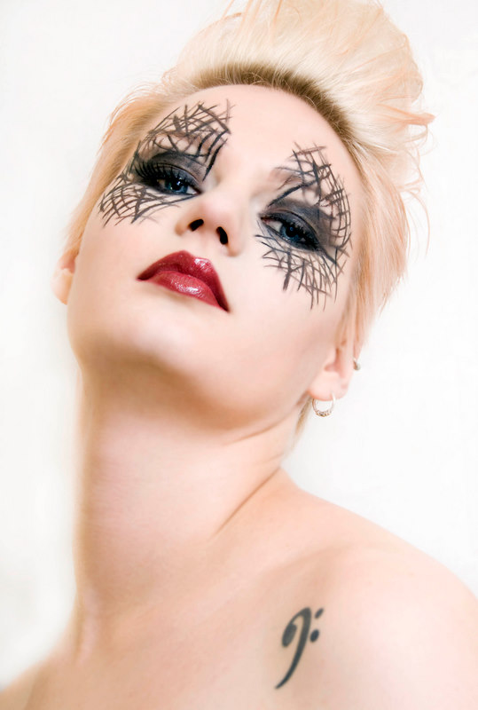 Female model photo shoot of Ainewalsh by Kathy Silke , makeup by Ainewalsh