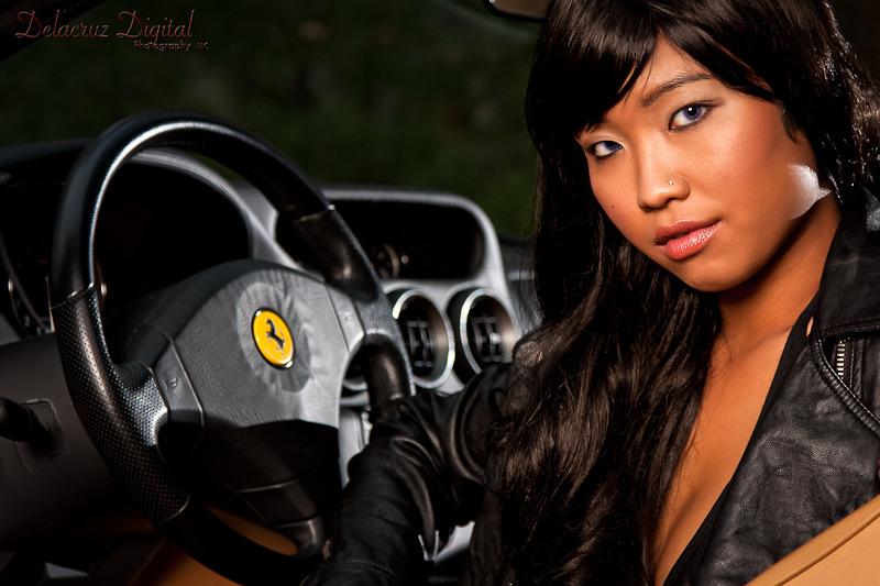 Female model photo shoot of lilmizzunperfect89 by AharonD