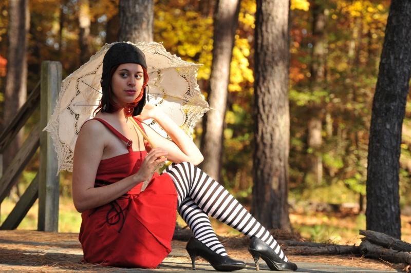 Female model photo shoot of PoiPoi