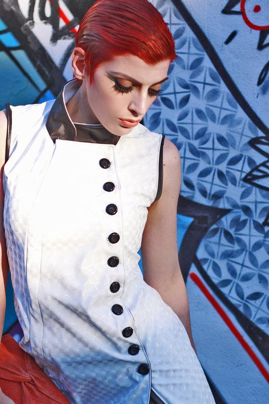 Brooklyn NY Nov 17, 2010 Tarik Carroll Photo: Tarik Carroll Wardrobe: Berit NY MUA: Jarrett Brandon Hats: La China Loca  Bags:Pier 43