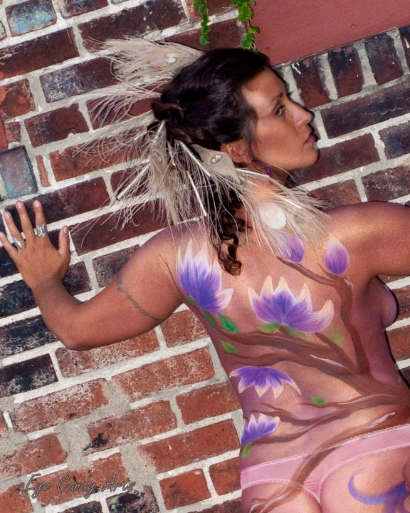 Nov 17, 2010 Jennifer Baxter Body painter