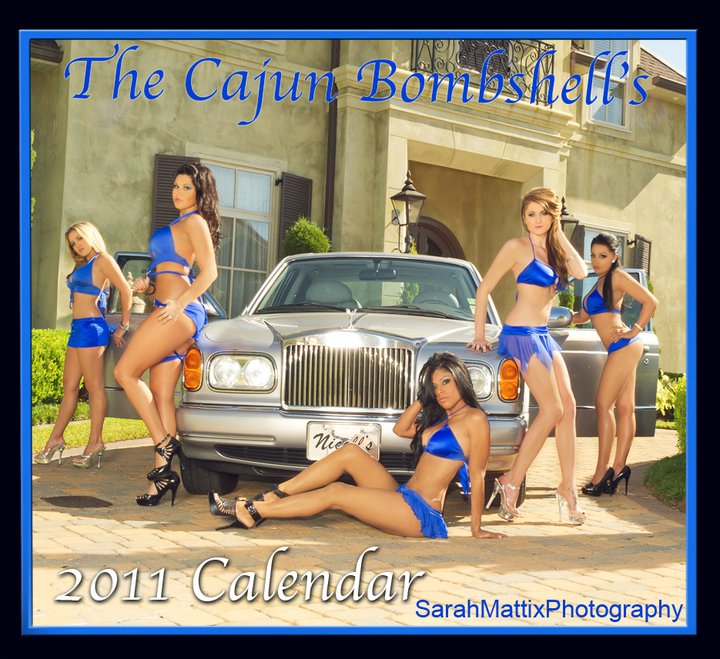 Metairie, La Nov 19, 2010 The Cajun Bombshells 2011 Calendar Cover