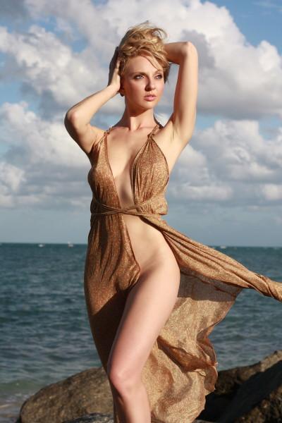 Female model photo shoot of tiana hunter in Miami Nov. 2010