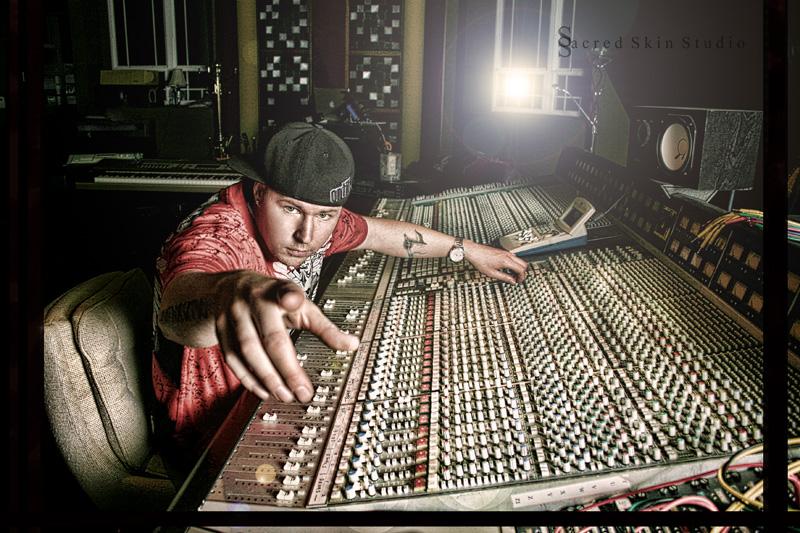 In the music studio Nov 23, 2010 Sacred Skin Studio Hypnautic