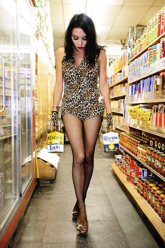 NYC Nov 24, 2010 2010 Mick Cantarella Tina Jane Buys Beer