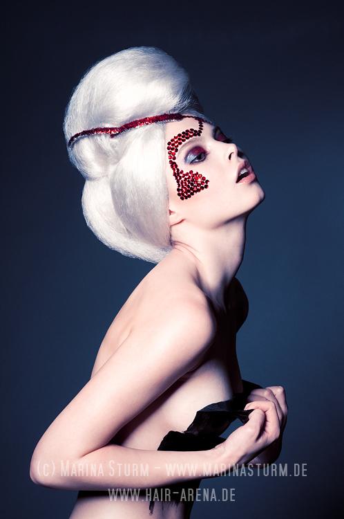 Nov 24, 2010 Marina Sturm Model: Ayla, Hair: Marco Arena - www.hair-arena.de, Make-Up: Ira Moeller - www.ira-moeller.de