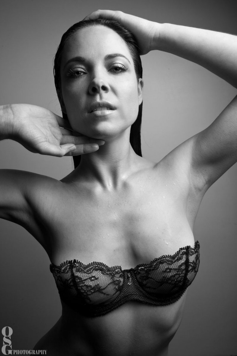 Female model photo shoot of Sophie Gospodarczyk by Olivia Sari-Goerlach, makeup by Bonita Hair Makeup