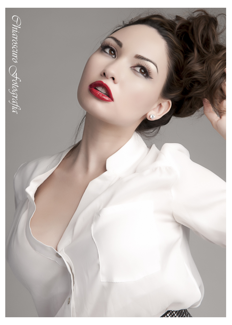 Female model photo shoot of luvjackie by Chiaroscuro Fotografia, makeup by Gia Deo