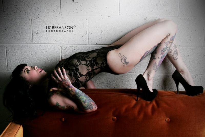Wilmington, DE Nov 26, 2010 Liz Besanson 2010 As seen in the Dec. issue of Inked Girls Magazine
