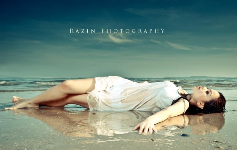 Male and Female model photo shoot of Razin Razor and Mettacari