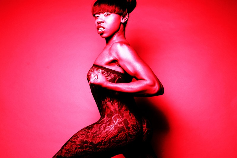 Female model photo shoot of Blair Noire