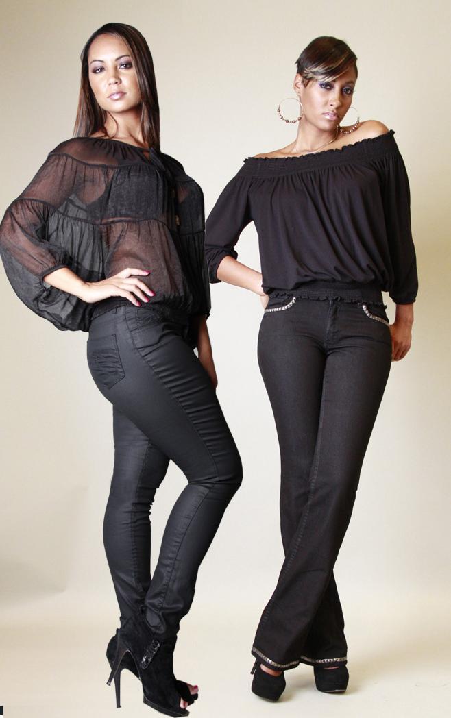 Female model photo shoot of PZI  Jeans in Atlanta, Georgia