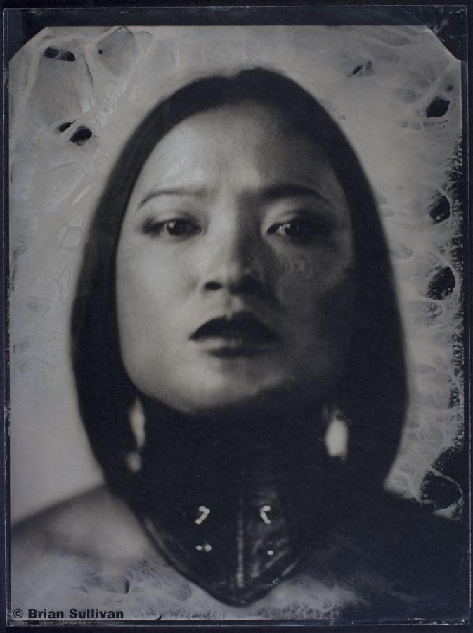 SF Studio Dec 03, 2010 Brian Sullivan restrain - 18x24 Ambrotype