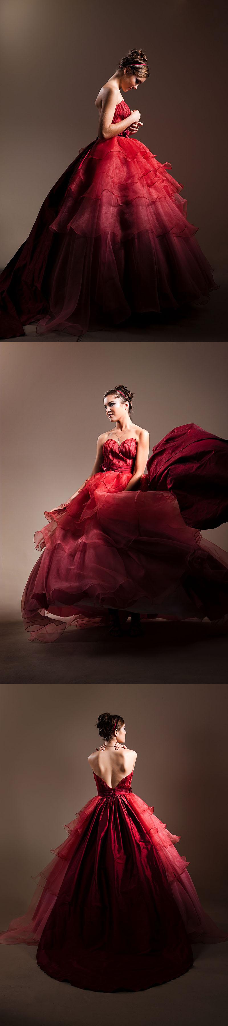 Sydney Dec 05, 2010 ©ChrisDavidPhotography Red Dress - Biljana
