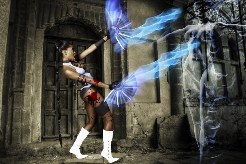 Dec 06, 2010 Photography by Dave Reid Mortal Kombat - Kitana