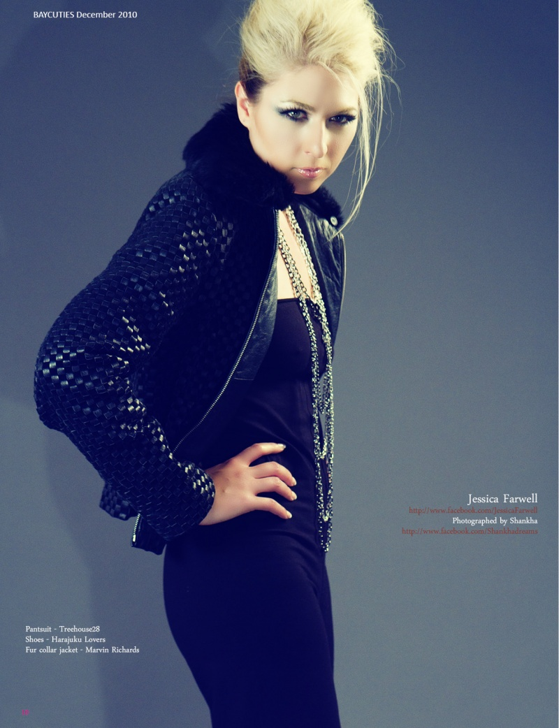 Female model photo shoot of Jessica Farwell by Shankhadreams