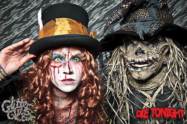 Dec 08, 2010 Glitter Guts Mad Hatter Zombie