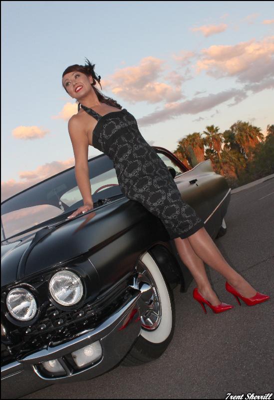 Phoenix, Az. Dec 08, 2010 Trent Sherrill Hot Rod Pinup