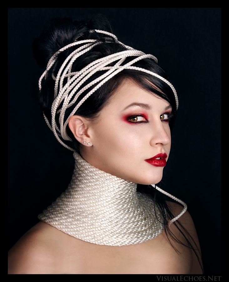 Female model photo shoot of Rachel Clugston by Living in the Buff