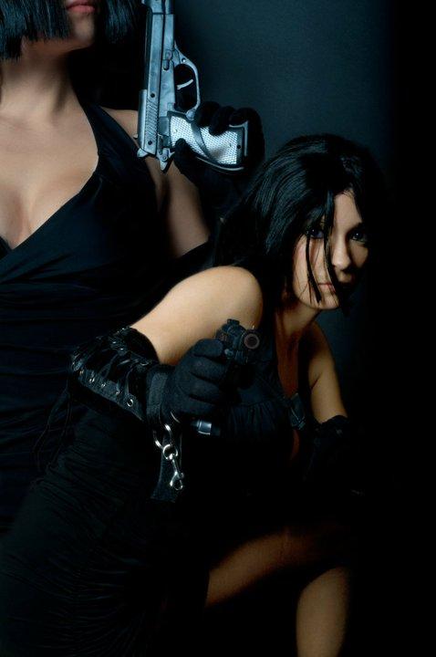 Female model photo shoot of Jennifer_G Photography in studio