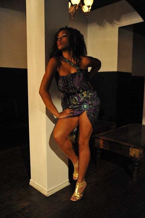 Female model photo shoot of J Golden in Mint Nightclub, Toronto, ON