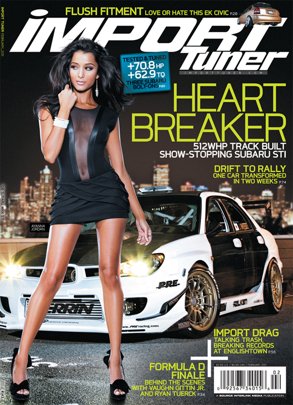 Dec 11, 2010 @Christian Arias Import Tuner Magazine - Feb 2011 issue