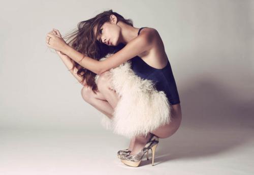 Female model photo shoot of Chesley Carele Stylist
