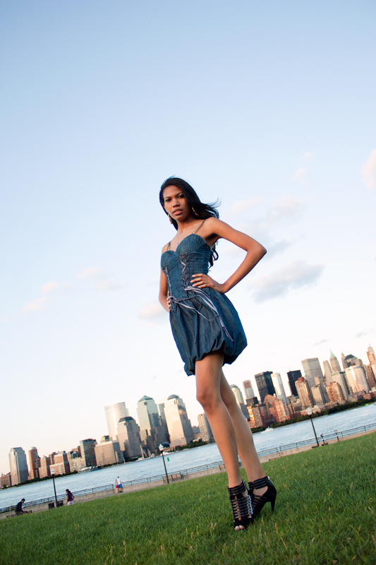 Male and Female model photo shoot of dmanlt and Ivana Parrilla in Liberty State Park, Jersey City, NJ