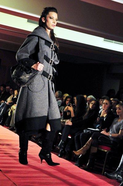 Opatija, Croatia Dec 20, 2010 Fashion Show New Life Is Born
