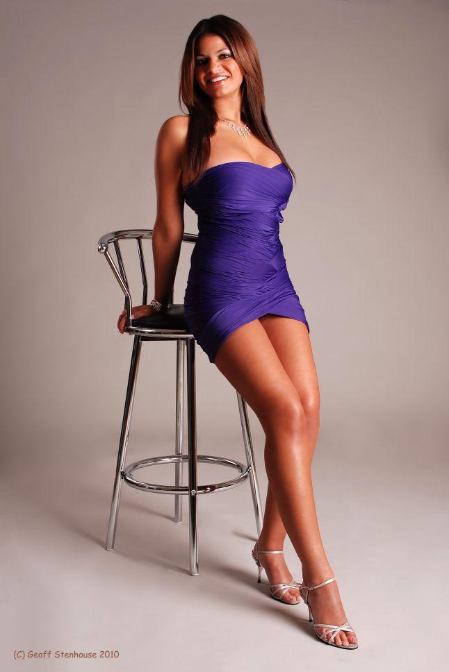 Rowe Photographic Studios Dec 20, 2010 Artist Purple Dress