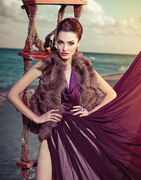 Dec 21, 2010 model Victoria, make up Yulia Jade