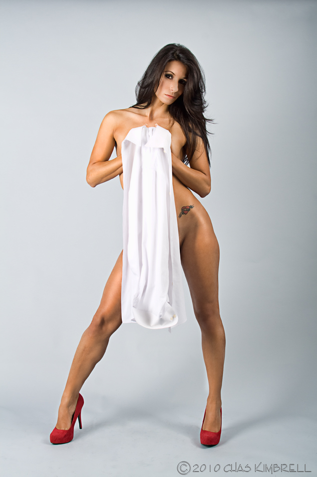 Shower Curtain Studio Dec 21, 2010 ©2010 Chas Kimbrell Alida . . . Shes got it covered!