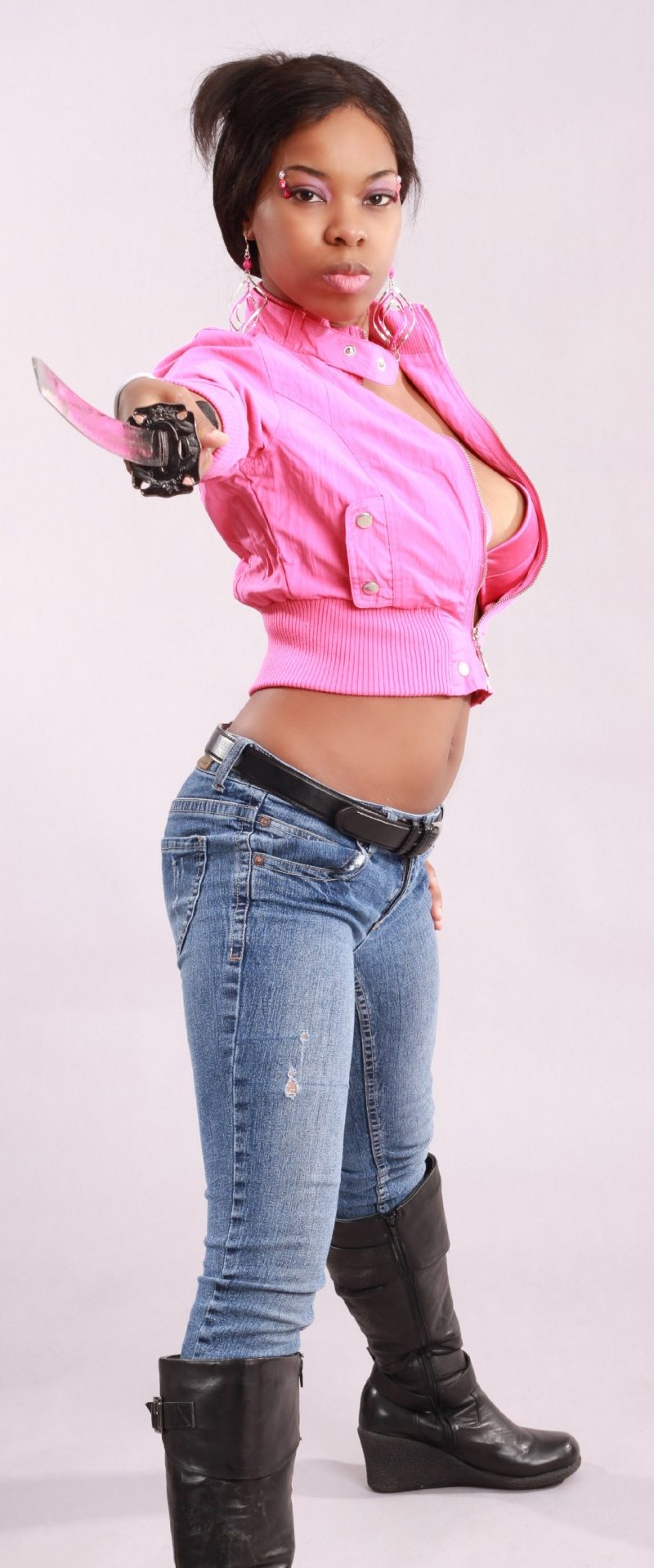 Female model photo shoot of Ironica Nomura Hope by J Rosa Photography