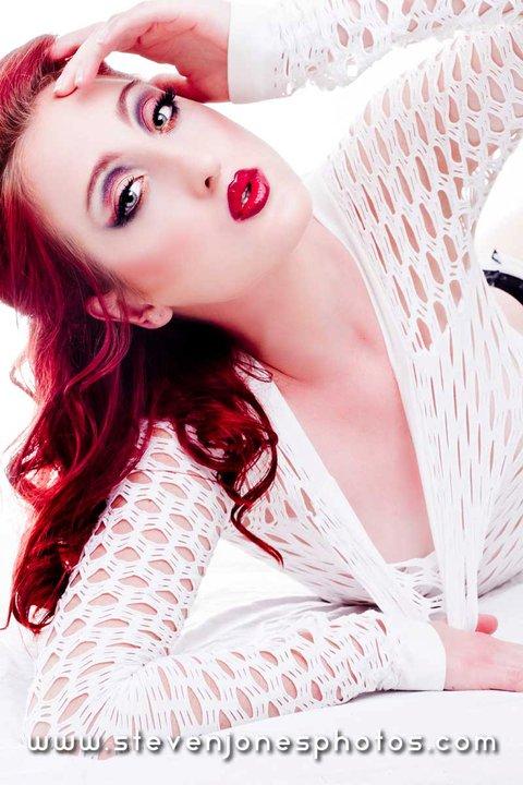 Female model photo shoot of Jadette  by stevensphotos in Studio