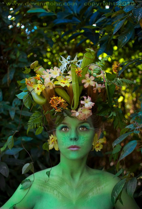 Female model photo shoot of Stembot in Hiol, Hawaii