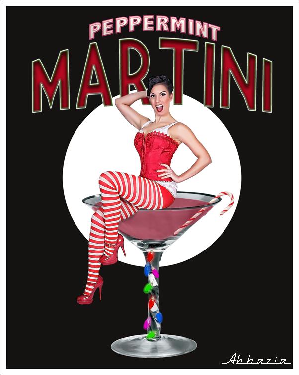 Digital Picture of the Day Winner Dec 23, 2010 Al Abbazia Peppermint Martini