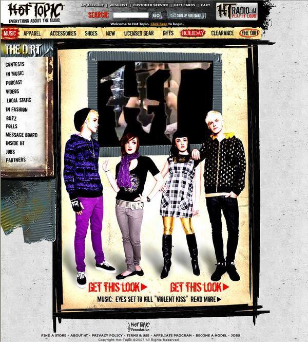 City of Industry, CA Dec 26, 2010 HotTopic.com