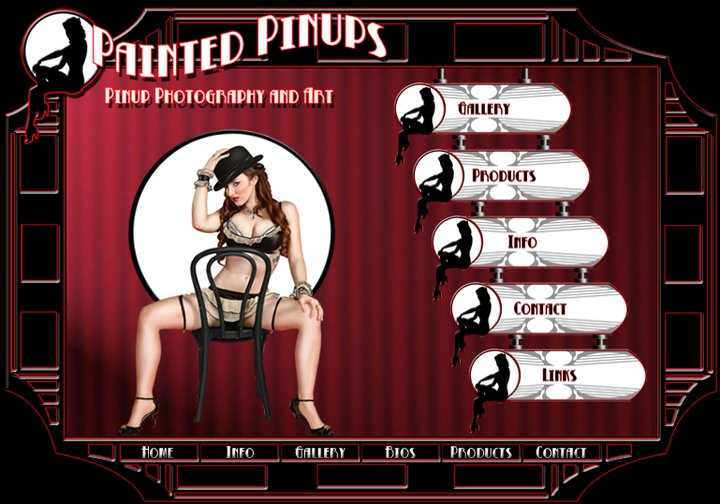 Dec 26, 2010 PaintedPinups.com Homepage