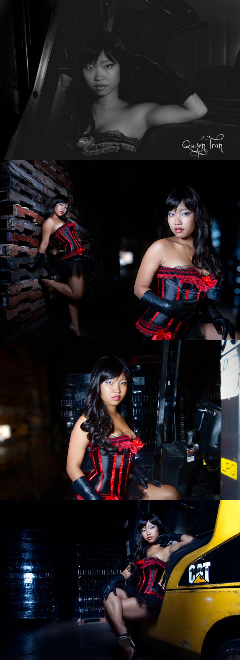Female model photo shoot of lilmizzunperfect89 by ShutterBank Photography, makeup by Liana Carlan