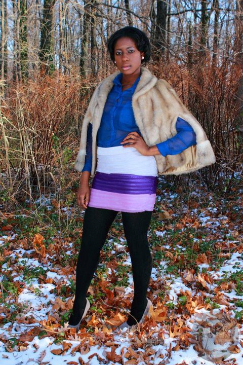 Female model photo shoot of Morgan Powell stylist and IYABO by Photography By AlexG in Maryland