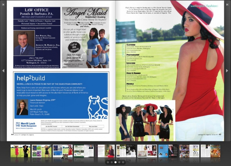 Palm Beach International Polo Club Dec 31, 2010 Wellington Magazine What to Wear to Polo, January 2011