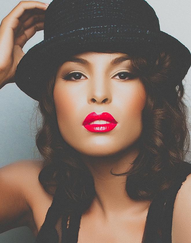 Female model photo shoot of makeup Cecret, makeup by makeup Cecret