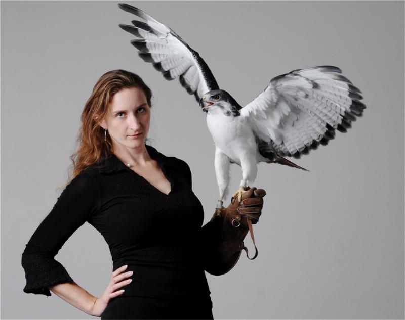 Female model photo shoot of Hawk and Model by Patas de Cabra in Los Angeles, California