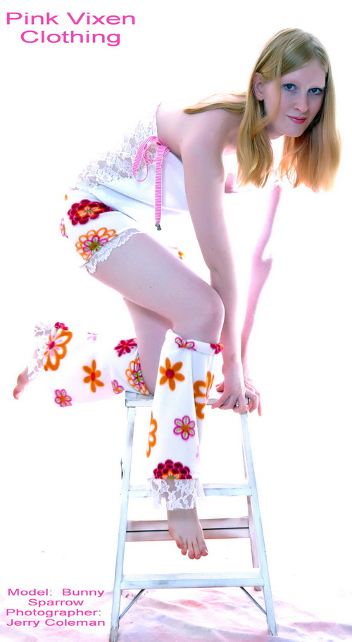 Female model photo shoot of Bunny Sparrow by HOTTIE SHOTS, clothing designed by For The Perfect You PVC