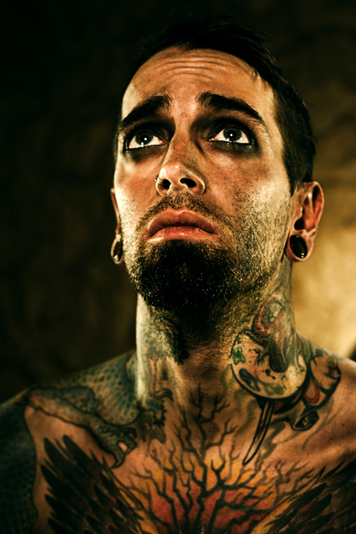 Jan 04, 2011 tattooed man from Circus series