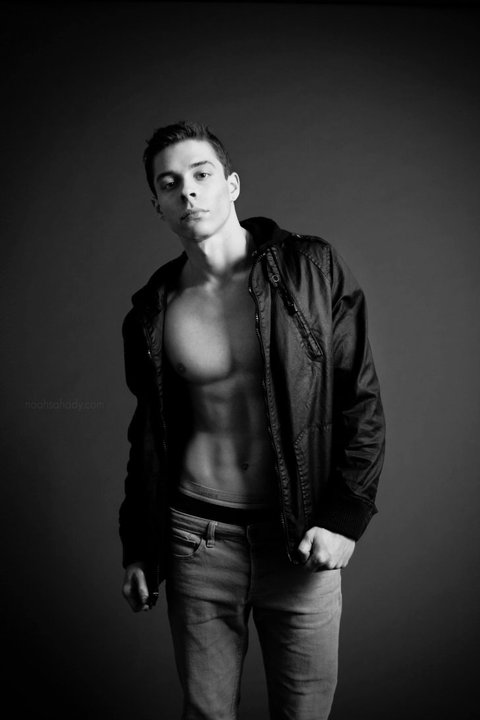 Male model photo shoot of Cory Cook in Studio