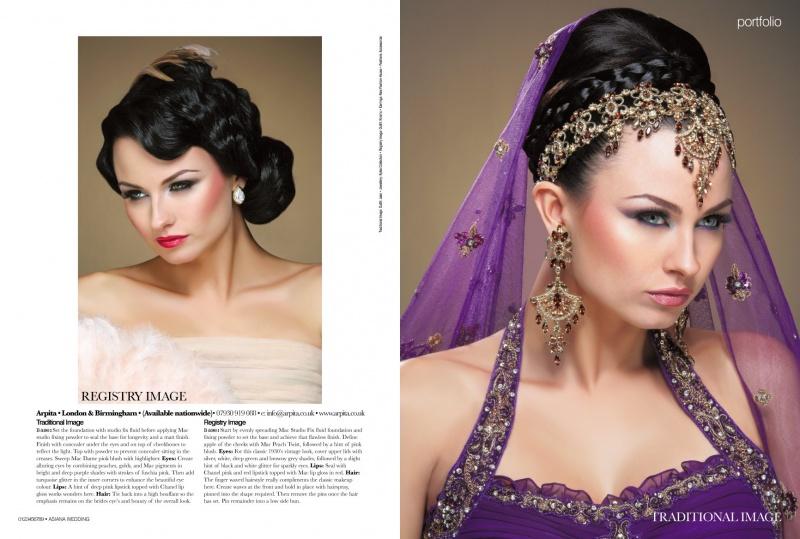 London Jan 10, 2011 Asiana Wedding Winter Issue 2010
