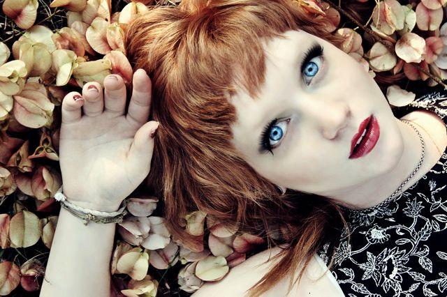 Female model photo shoot of LuLu Makeup