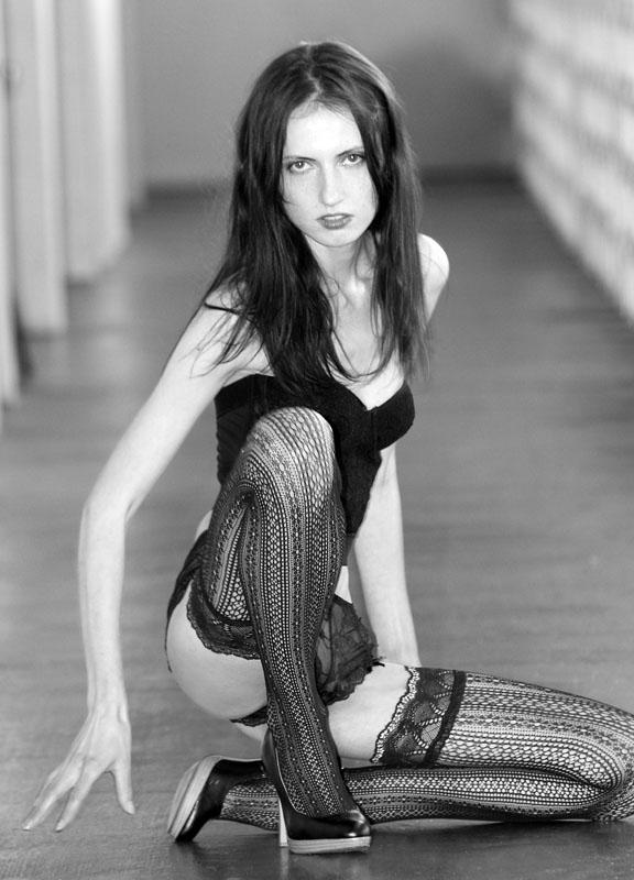 Female model photo shoot of Emma Litova by John Fisher in South Beach (Miami Beach, Florida)